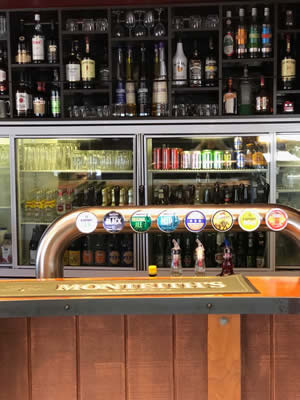 Beer On Tap At Grove Tavern In Marlborough NZ